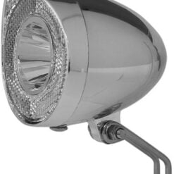 Union Koplamp Retro LED Chroom