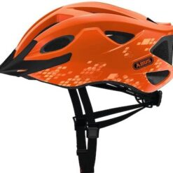 Abus S-Cension Fietshelm - Diamond Oranje- Meerdere Maten