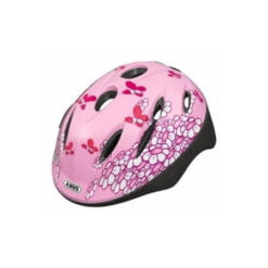 Abus Kinderhelm Smooty Pink Butterfly - Maat S - 45-50