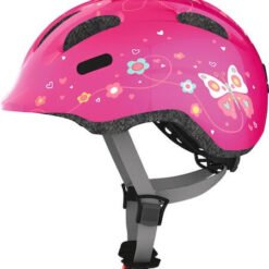 Abus Kinder Fietshelm Smiley 2.0 - Pink Butterfly